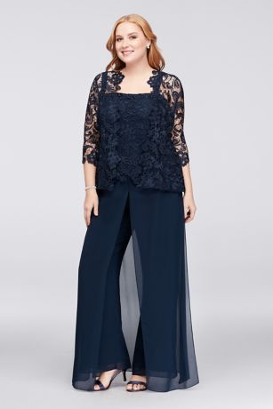 Lace and Chiffon Jacket