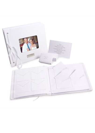 Personalized Wedding Wishes Envelope Guest Book 2006W