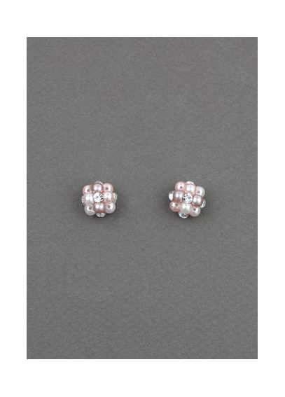 Pink Pastel Beehive Earrings 20310230