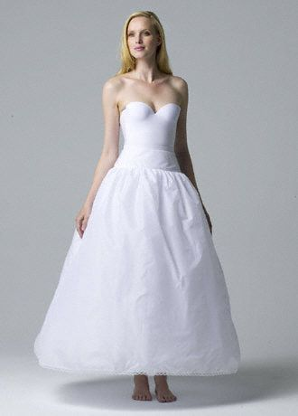 Very Full Bridal Ball Gown Slip - Layers of tulle create a dramatic, full, princess