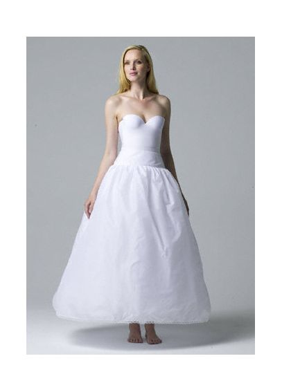Very Full Bridal Ball Gown Slip 2031WHITE