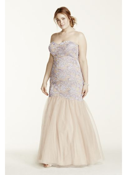 Long 0 Strapless Prom Dress - Hailey by Adrianna Papell