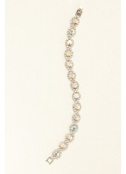 Circle Crystal Line Bracelet - Wedding Accessories