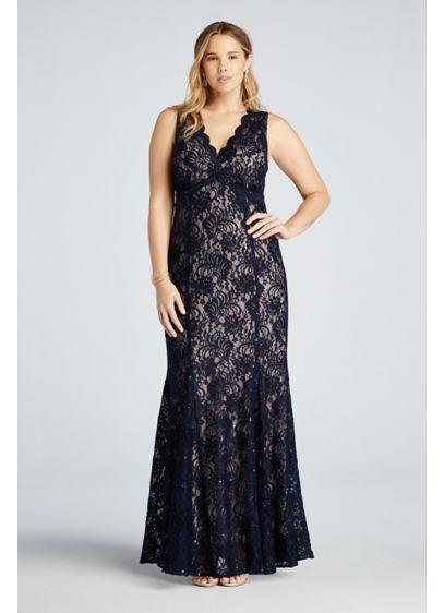 Long Mermaid/ Trumpet Tank Prom Dress - Morgan and Co