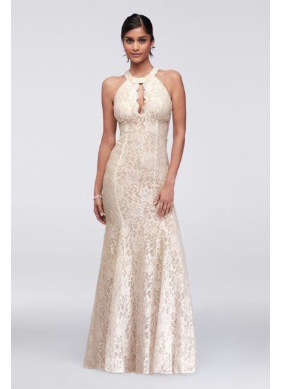 Long Mermaid/ Trumpet Halter Formal Dresses Dress - Morgan and Co