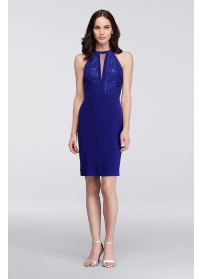 Short Sheath Tank Cocktail and Party Dress - Morgan and Co