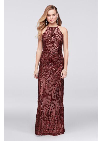 Long Sheath Wedding Dress - Nightway