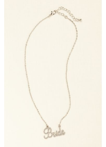 Crystal Pave Bride Necklace - Wedding Gifts & Decorations