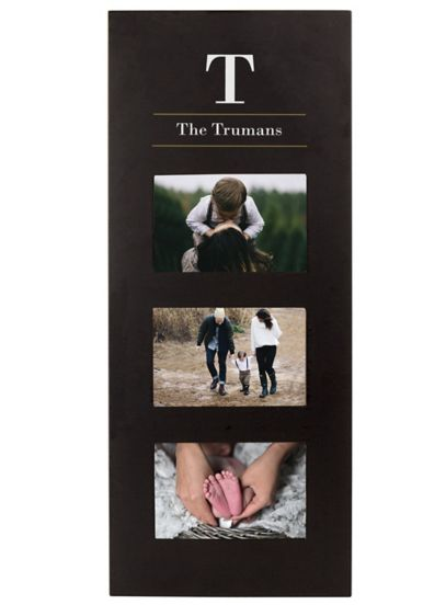Personalized Multi Photo Frame - Wedding Gifts & Decorations