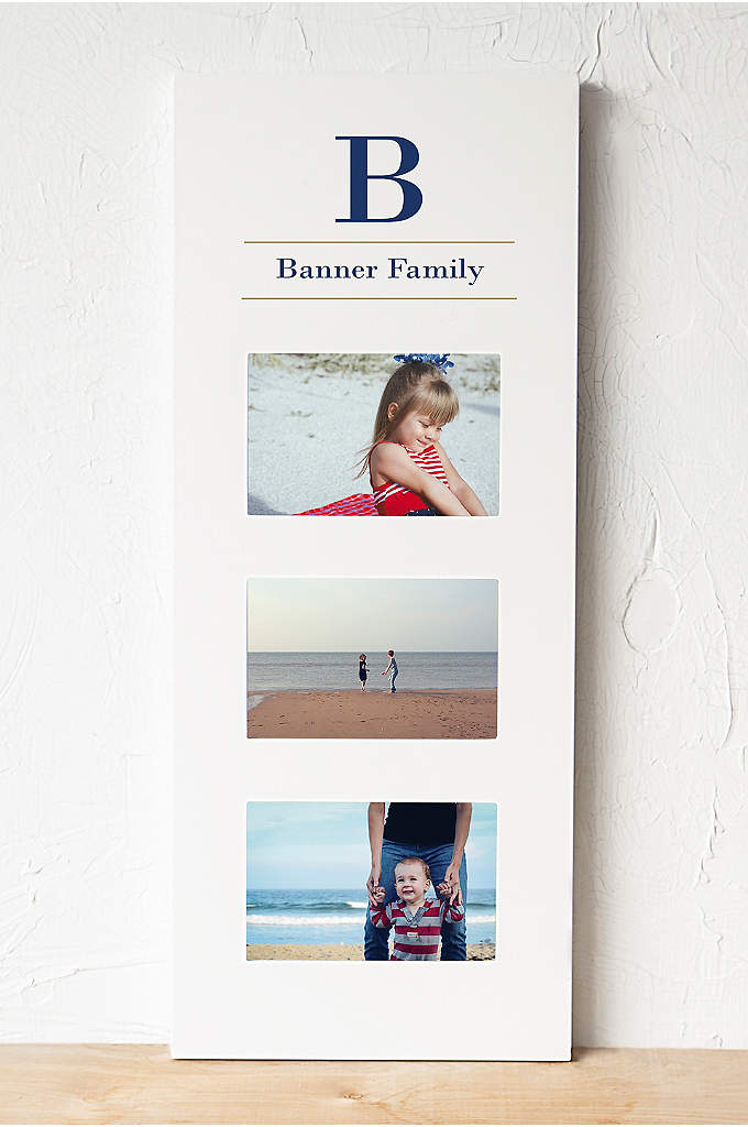 Personalized Multi Photo Frame - Place your dearest moments on display with the