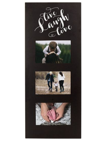 Live Laugh Love Multi Photo Frame - Wedding Gifts & Decorations