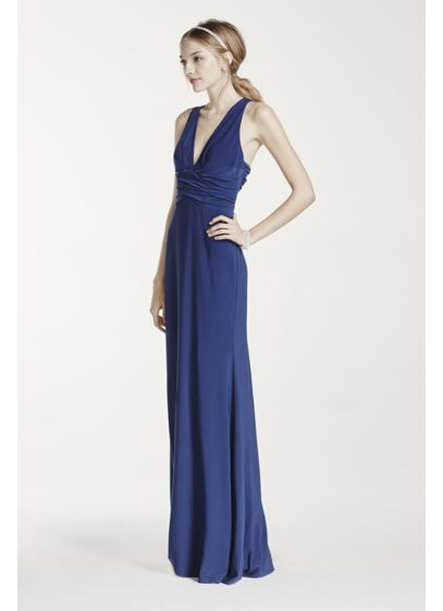 Long Sheath Halter Formal Dresses Dress - Hailey by Adrianna Papell