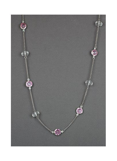 Pink Chanel Beaded Necklace - Wedding Accessories