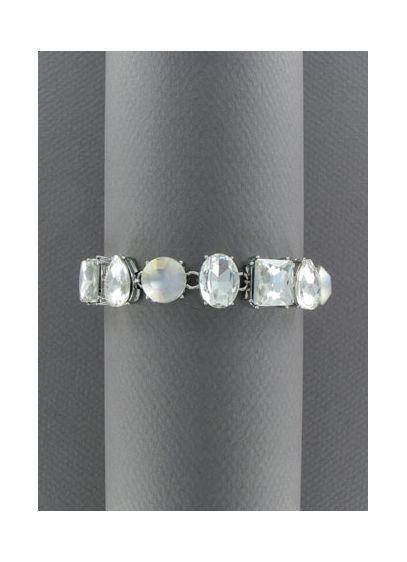 Multi-Faceted Stone Bracelet - Wedding Accessories