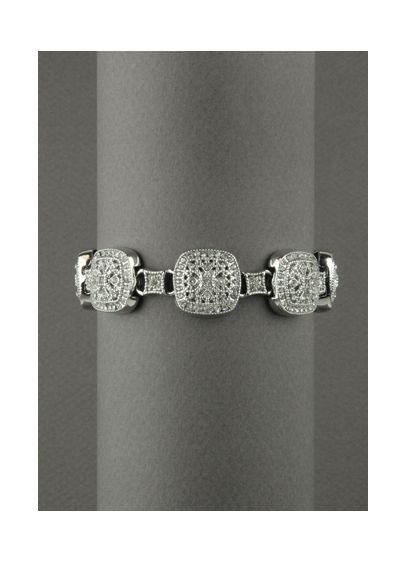 Pave Crystal Bracelet - Wedding Accessories