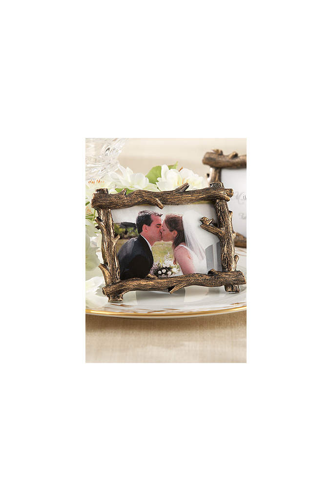 Scenic View Tree Branch Place Card Photo Holder - At last a favor so captivating, it starts