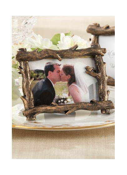 Scenic View Tree Branch Place Card Photo Holder - Wedding Gifts & Decorations