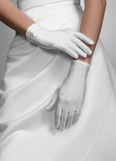 Wrist Length Satin Glove 25100