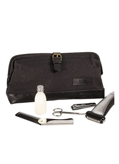 Personalized Men's Travel Dopp Kit - Wedding Gifts & Decorations