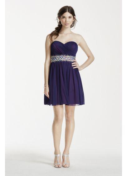 Short Ballgown Strapless Prom Dress - My Michelle