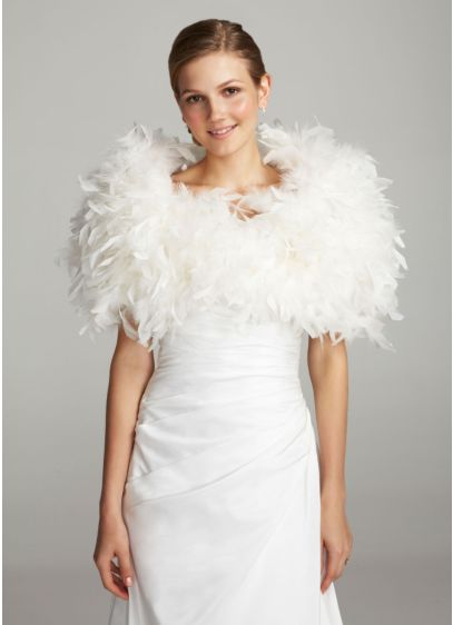 Feather Wrap - Wedding Accessories