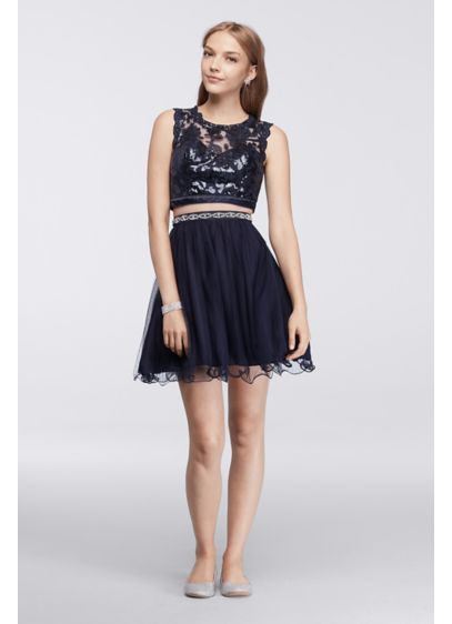Short Ballgown Tank Prom Dress - My Michelle