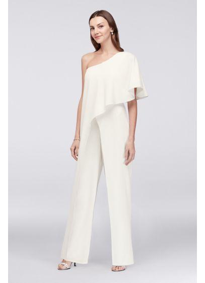 Long Jumpsuit One Shoulder Formal Dresses Dress - Marina