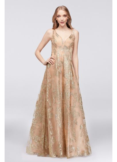 Long Ballgown Tank Formal Dresses Dress - Marina