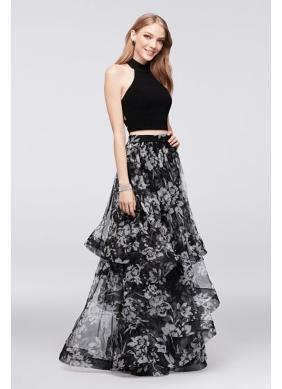 Long Ballgown Tank Formal Dresses Dress - Blondie Nites
