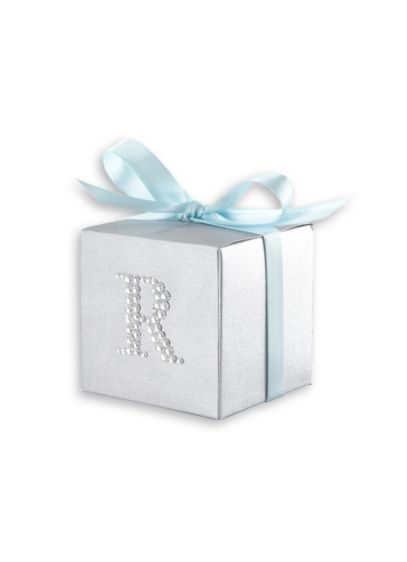 Personalized Jeweled Monogram Favor Set of 24 - Wedding Gifts & Decorations
