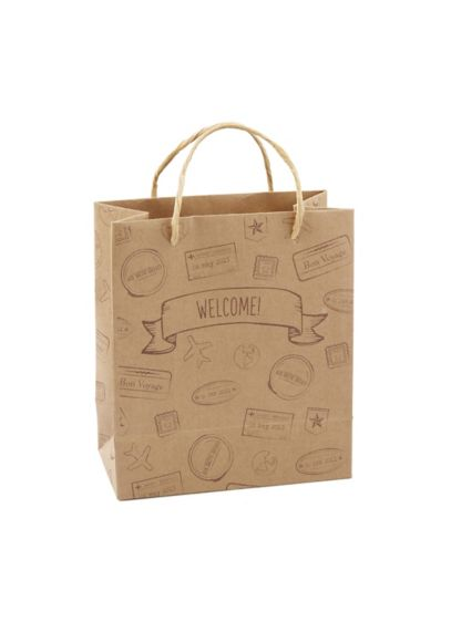 Let the Adventure Begin Welcome Bags Set of 12 - Wedding Gifts & Decorations