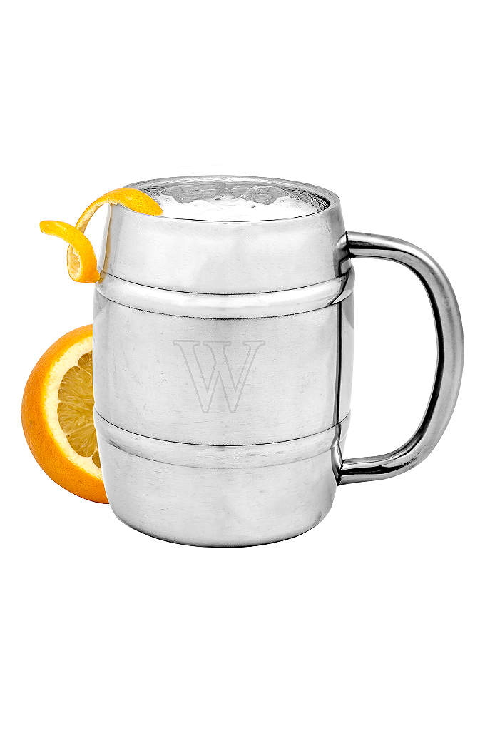 Personalized Double-Wall Insulated Keg Mug - A cold beer is a must for all