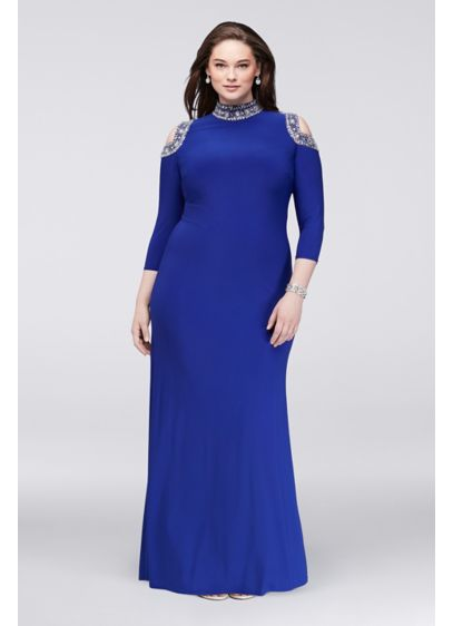 Long Sheath Off the Shoulder Mother and Special Guest Dress - Marina