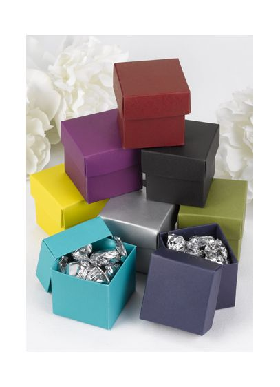 Two Piece Favor Boxes Pack of 25 - Wedding Gifts & Decorations