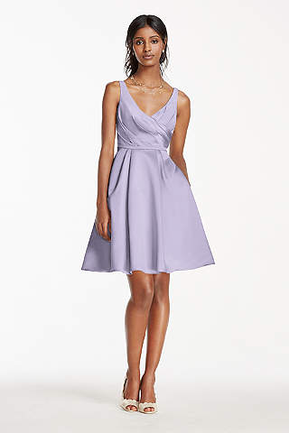 Lilac Lavender Bridesmaid Dresses David S Bridal Dress Gowns And Ideas