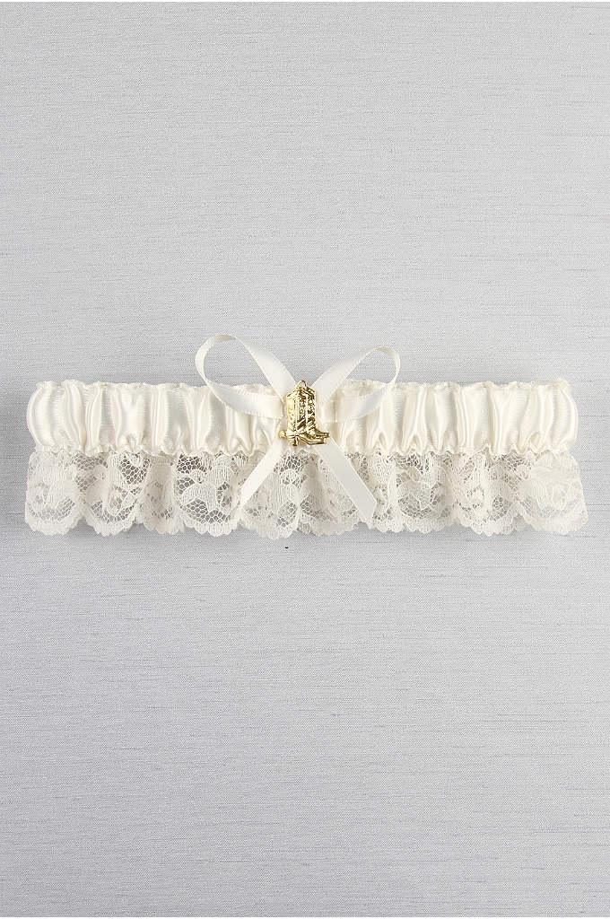 Cowboy Boot Garter - This western-themed garter is the perfect accessory to