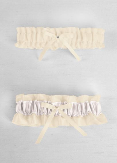 DB Exclusive Monogram Collection Garter Set 30-3100