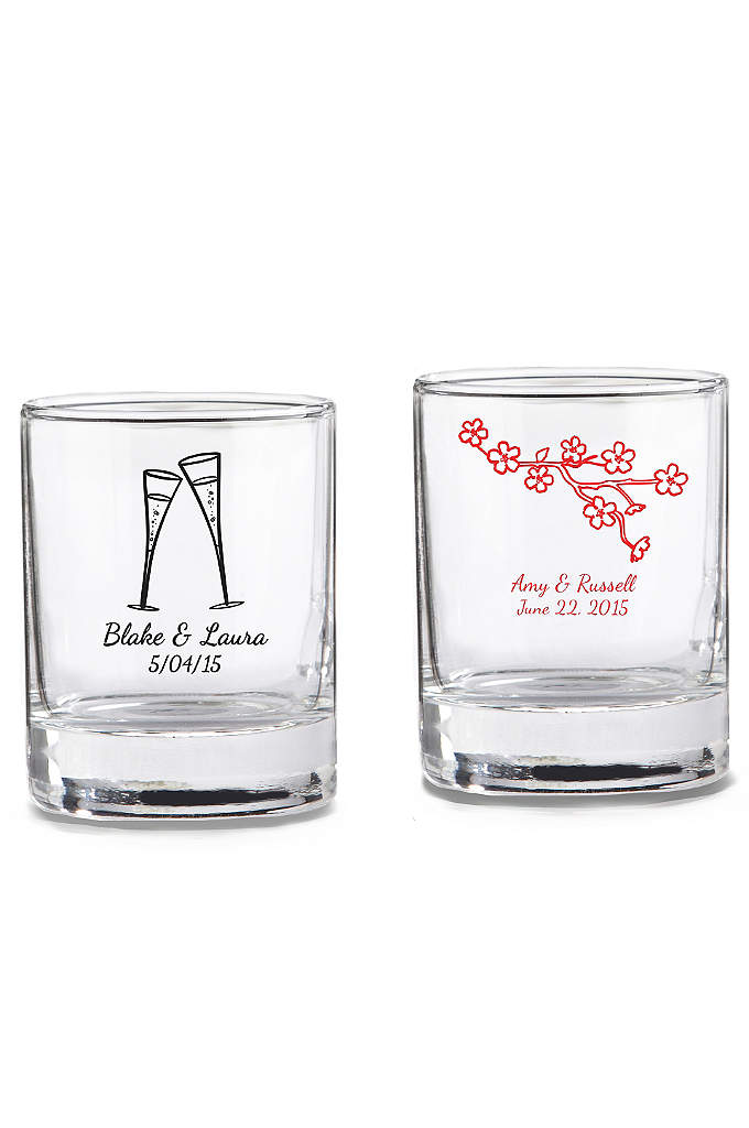 Personalized Shot Glass/ Votive Holder - Have you chosen the dream theme for your