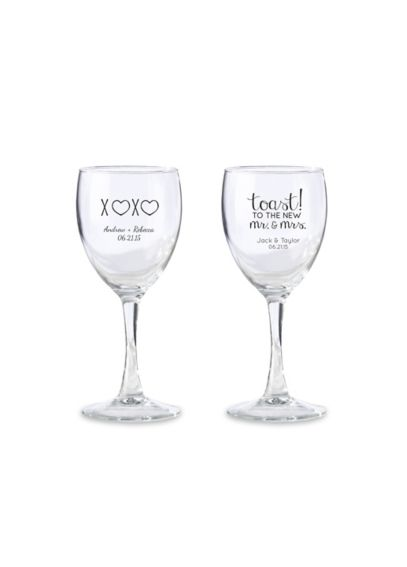 Personalized Wine Glass 8.5 oz 30015NA