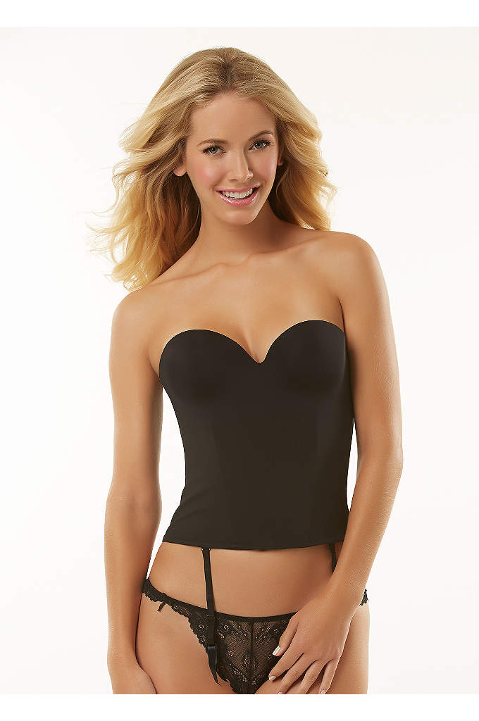 Jezebel Embrace Seamless Hidden Wire Bustier - Contour pad bustier with a floating outer cover