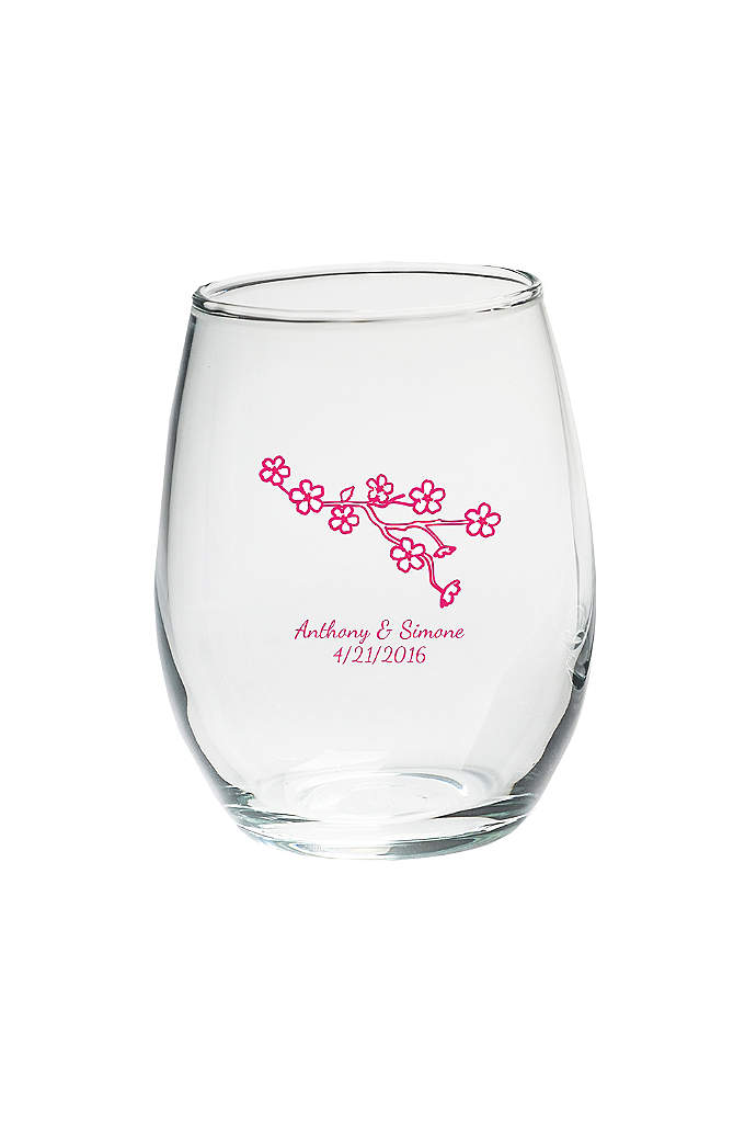 Personalized Stemless Wine Glass 15 oz. - If a little is good, a lot is