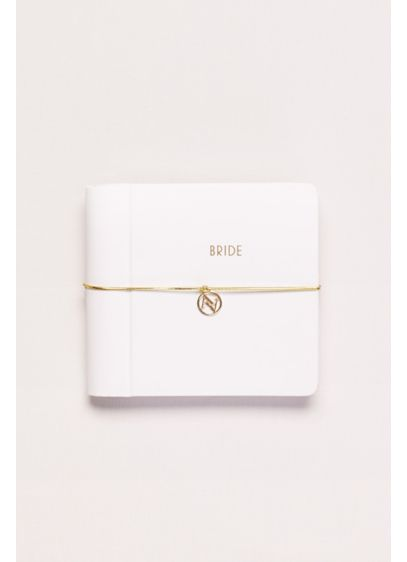 White (Bride Notebook with Band Closure)