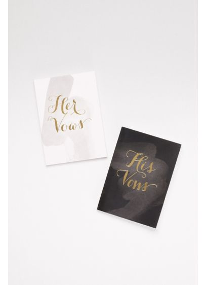 His and Hers Vow Journals - Wedding Gifts & Decorations