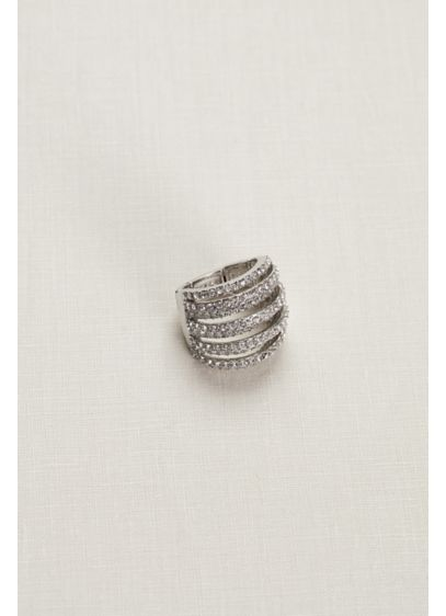Stretch Crystal Ring - Wedding Accessories