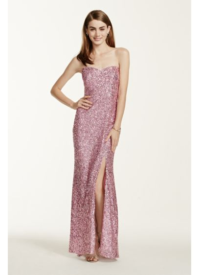 Long Sheath Strapless Formal Dresses Dress - Jump