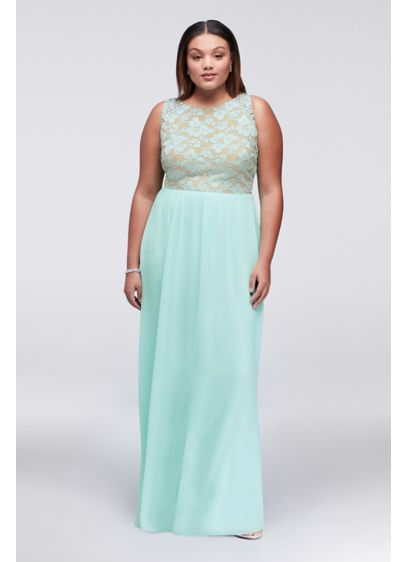 Long A-Line Halter Prom Dress - City Triangles