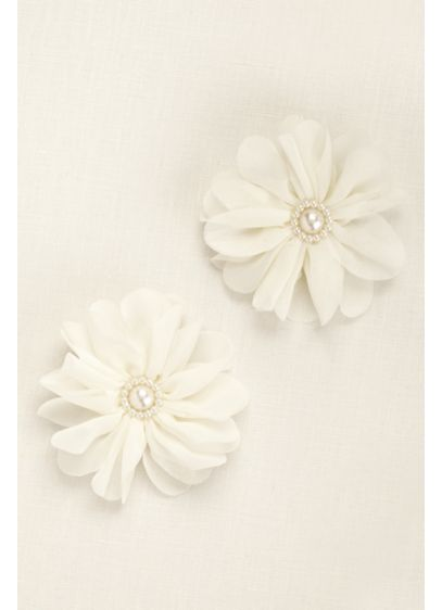 Chiffon Flower Headpieces - Wedding Accessories