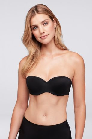 Dominique Molded Seamless Strapless Bra - Ideal for sheer tops and strapless gowns, this
