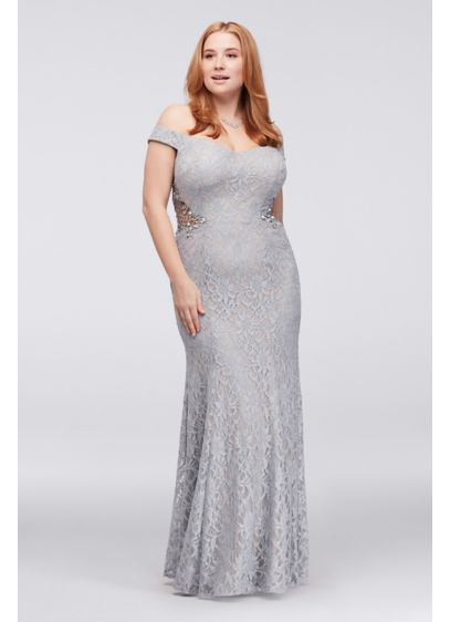 Long Mermaid/ Trumpet Off the Shoulder Formal Dresses Dress - City Triangles