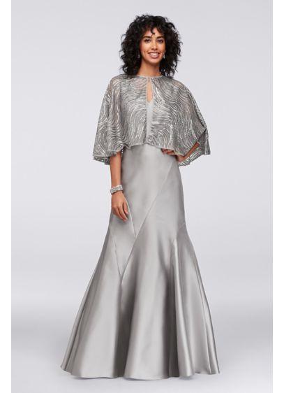 Long Mermaid/ Trumpet Jacket Formal Dresses Dress - Ignite